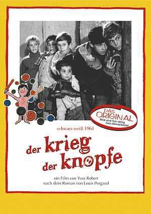 Der Krieg der Knöpfe, La Guerre des boutons (DVD) 1962