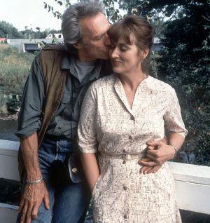 """Clint Eastwood und Meryl Streep in """"Die Brücken am Fluß"""""""