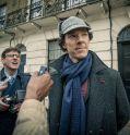 "Benedict Cumberbatch ist ""Sherlock"""