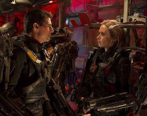 """Müssen die Welt retten: Tom Cruise und Emily Blunt in """"Edge of Tomorrow 3D"""""""