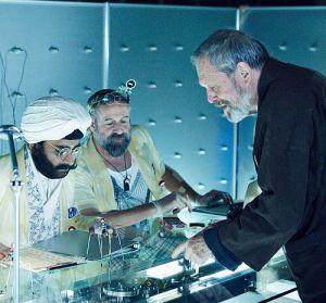 """Regisseur Terry Gilliam am SET von """"The Zero Theorem"""""""