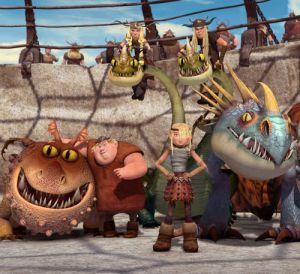 Dragons - Die Reiter von Berk Vol. 4, Die Drachenreiter von Berk (Szene) 2012
