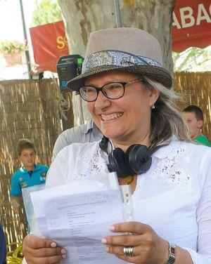 """Roselyne Bosch auf dem Set von """"Ein Sommer in der Provence"""""""