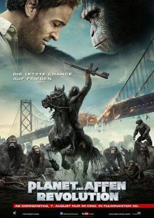 Planet der Affen - Revolution 3D (Kino) 2014