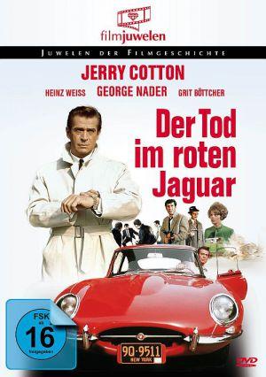 Jerry Cotton - Der Tod im roten Jaguar (DVD) 1968