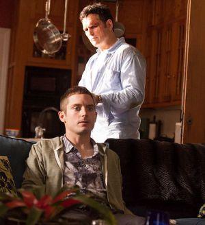 """Elijah Wood & Matt Dillon in """"Gangster Chronicles"""""""