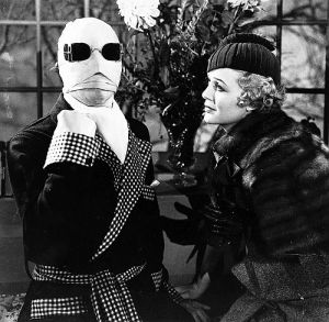 Der Unsichtbare, The Invisible Man (Szene) 1933