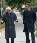 """Woddy Allen diskutiert mit John Turturro in """"Plötzlich Gigolo"""""""