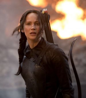 "Jennifer Lawrence in ""Die Tribute von Panem - Mockingjay - Teil 1"""