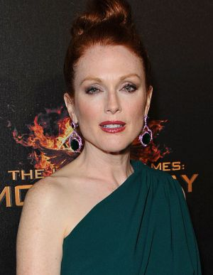 Julianne Moore, Die Tribute von Panem - Mockingjay - Teil 1 (Premiere Cannes) 2014