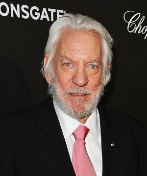 """Donald Sutherland auf der Premiere von """"Die Tribute von Panem - Mockingjay - Teil 1"""" in Cannes"""