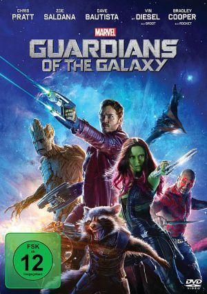 Guardians of the Galaxy (DVD) 2014