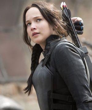 "Jennifer Lawrence in ""Die Tribute von Panem - Mockingjay - Teil 1"""