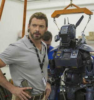 """Hugh Jackman in """"Chappie"""""""