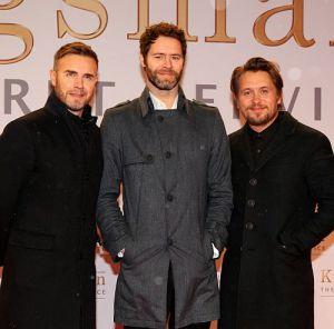 """Take That auf der Deutschland-Premiere von """"Kingsman: The Secret Service"""" in Berlin"""