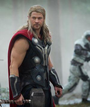 "Chris Hemsworth in ""Marvel's The Avengers: Age of Ultron"""