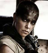 """Charlize Theron in """"Mad Max: Fury Road 3D"""""""