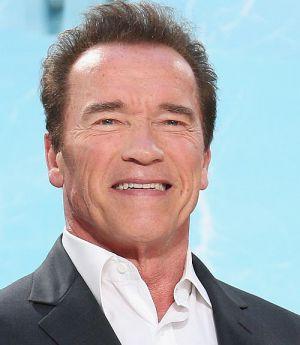 Arnold Schwarzenegger auf der Berliner Terminator-Premiere