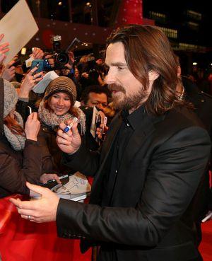 """Christian Bale auf der Premiere von """"Knight of Cups"""""""