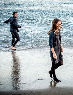 "Christian Bale und Natalie Portman in ""Knight of Cups"""
