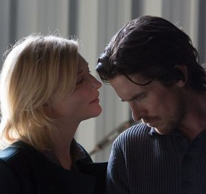 "Cate Blanchett und Christian Bale in ""Knight of Cups"""