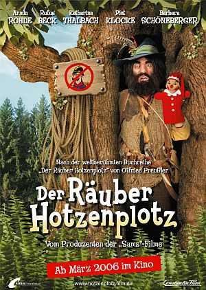 Der Räuber Hotzenplotz (Kino) Teaserplakat