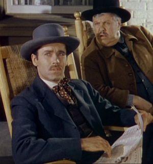 Rache für Jesse James (Szene) 1940