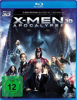 X-Men: Apocalypse 3D (3D-BD) 2016