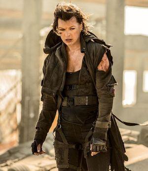 """Finaler Auftritt von Milla Jovovich in """"Resident Evil: The Final Chapter 3D"""""""