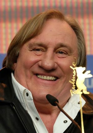 """Gérard Depardieu auf der Berlinale-PK (""""Saint Amour - Drei gute Jahrgänge"""")"""