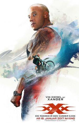 Vin Diesel, xXx: Die Rückkehr des Xander Cage 3D (xXx: The Return of Xander Cage, 2016)