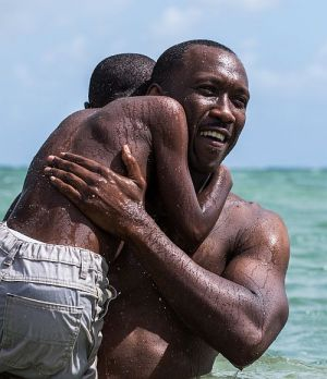 Mahershala Ali, Alex Hibbert, Moonlight (Szene 07) 2016