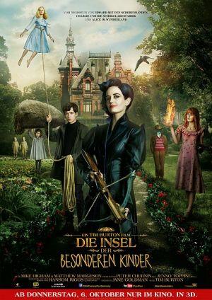 Die Insel der besonderen Kinder 3D, Miss Peregrine's Home for Peculiar Children (Kino) 2016
