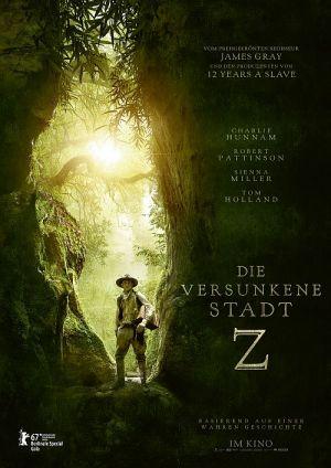 Die versunkene Stadt Z, The Lost City of Z (Kino) 2016