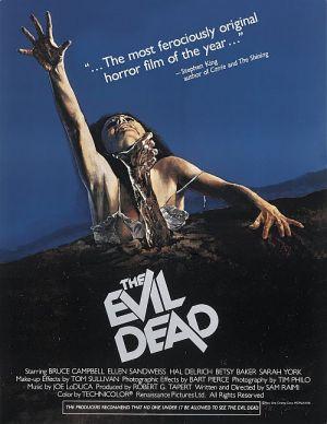 Tanz der Teufel, The Evil Dead (Kino engl) 1982