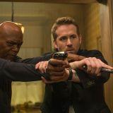 """Samuel L. Jackson mit Ryan Reynolds in """"The Killer's Bodyguard"""" (The Hitman's Bodyguard, 2017)"""