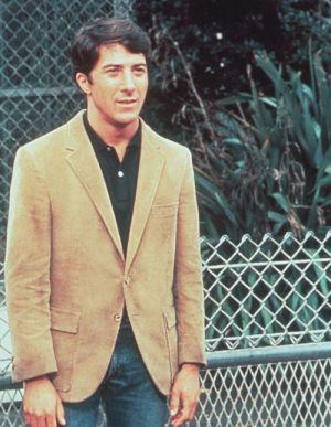 """Dustin Hoffman in """"Die Reifeprüfung"""" (The Graduate, 1967)"""
