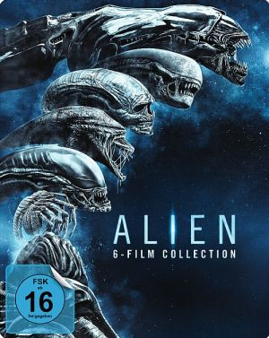 Alien 1-6 - Blu-ray-Box im Steelbox