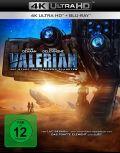 Valerian - Die Stadt und die tausend Planeten (4K Ultra HD + Blu-ray)