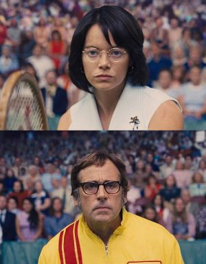 "Emma Stone und Steve Carell in ""Battle of the Sexes - Gegen jede Regel"" (2017)"