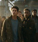 """Dylan O'Brian, Giancarlo Esposito & Rosa Salazar in """"Maze Runner: Die Auserwählten in der Todeszone"""" (Maze Runner: The Death Cure, 2018)"""