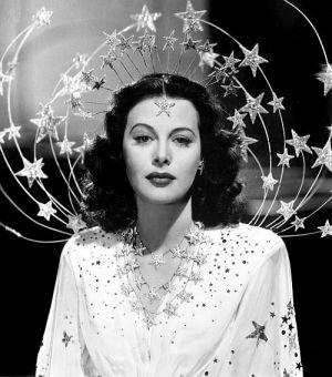 """Hedy Lamarr in """"Mädchen im Rampenlicht"""" (Ziegfeld Girl, 1941)"""
