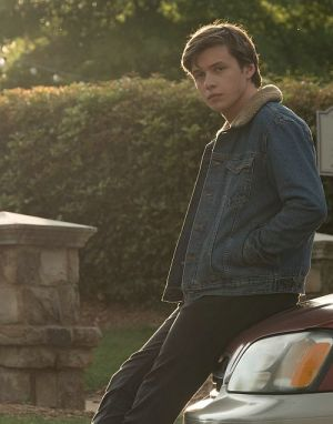 "Nick Robinson in ""Love, Simon"" (Simon vs. The Homo Sapiens Agenda, 2018)"