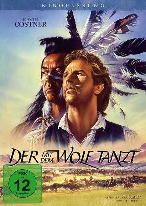 Der mit dem Wolf tanzt - Kinofassung, Dances with Wolves (DVD) 1990
