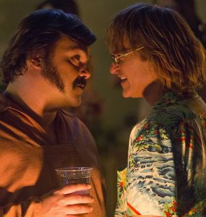 "Jack Black & Joaquin Phoenix in ""Don't worry, weglaufen geht nicht"" (Don't Worry, He Won't Get Far on Foot, 2018)"