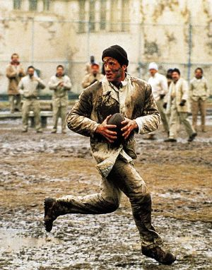 Sylvester Stallone, Lock Up - Überleben ist alles (Szene) 1989
