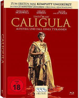Caligula - Aufstieg und Fall eines Tyrannen - Uncut (Mediabook)