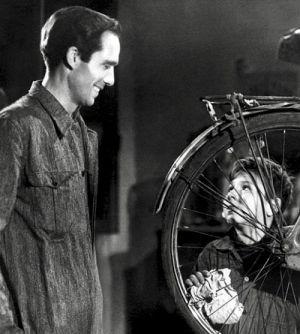 Fahrraddiebe (Szene) 1948