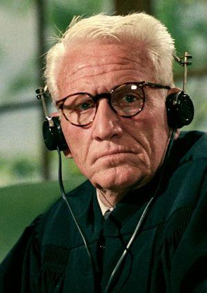 """Spencer Tracy in """"Das Urteil von Nürnberg"""" (Judgment at Nuremberg, 1961)"""