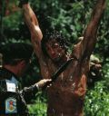 "Sylvester Stallone in ""Rambo 2 - Der Auftrag"" (Rambo - First Blood Part 2) 1985"